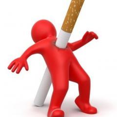 Verschillende ziektes ten gevolge van roken